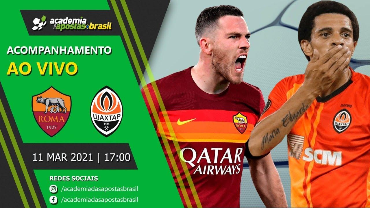 Roma vs Shakhtar Donetsk ao vivo - Liga Europa