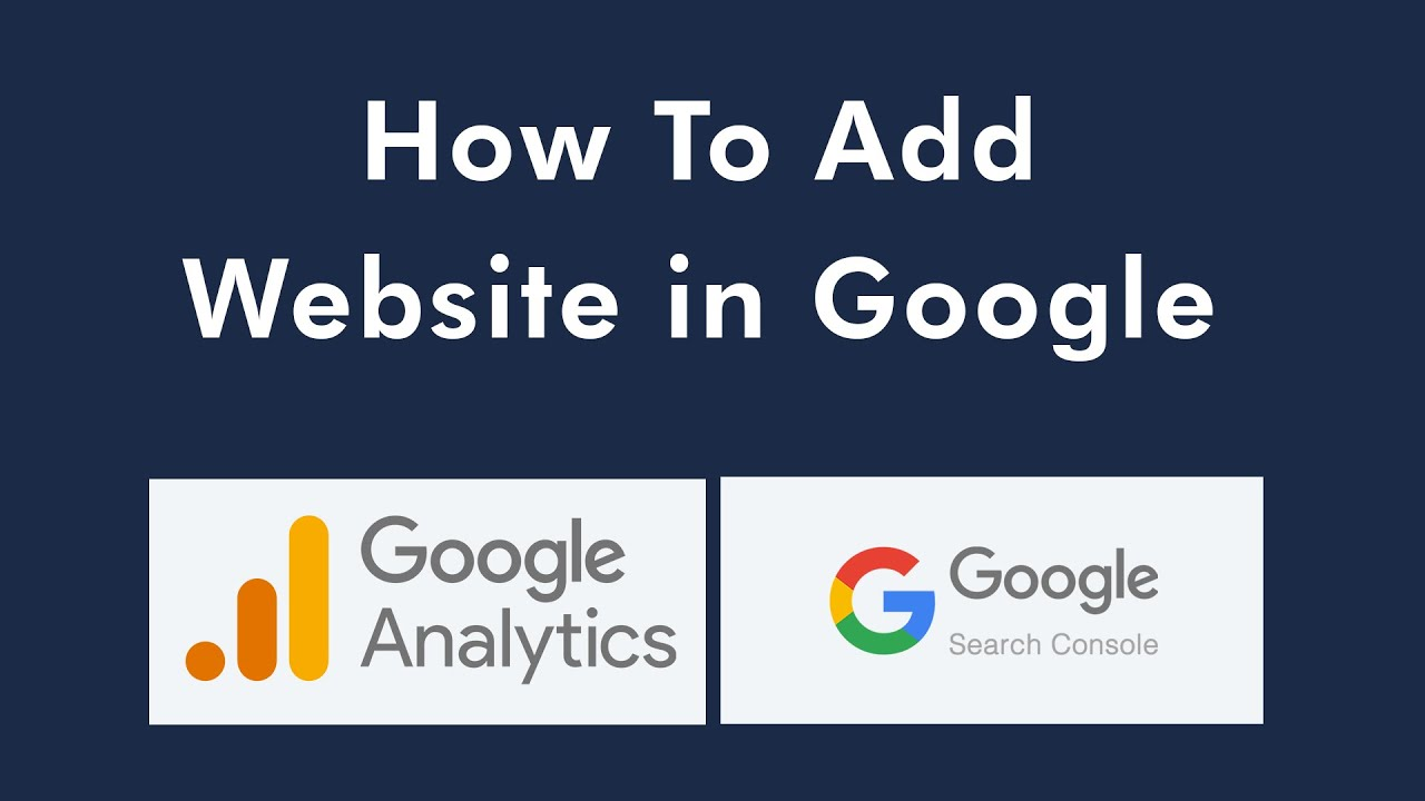 How To Add Google Analytics And Search Console On Website | Google Site Verification