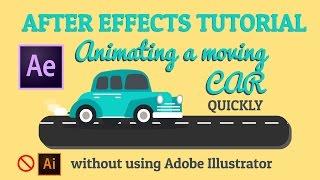 Hareketli araba - Animasyon - After effects Öğretici