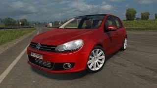 """[""""Euro Truck Simulator 2"""", """"Volkswagen Golf MK6"""", """"ETS 2 Mod""""]"""