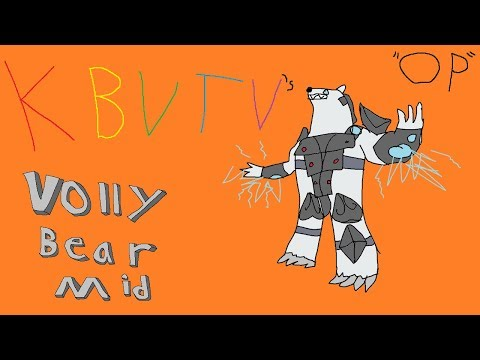 KBVTV | VOLLYBEAR MID (OP ONE SHOT GUARANTEED TO GET YOU TO CHALLENGER)