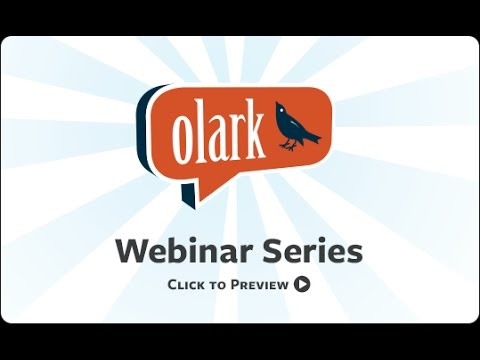 Olark + GreenRope Webinar Part 1