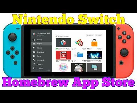 Nintendo Switch: Homebrew App Store   Review [Deutsch HD]