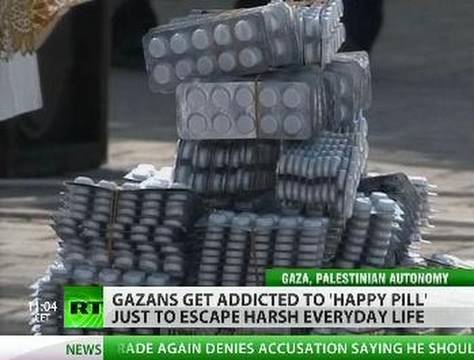 Gaza on Drugs: 'Happy Pill' lifts blockade mood