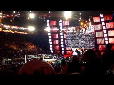 Cm punk entrance WWE Survivor Series 2013
