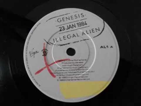 Genesis - Illegal Alien (vinyl lp 1984 UK press)