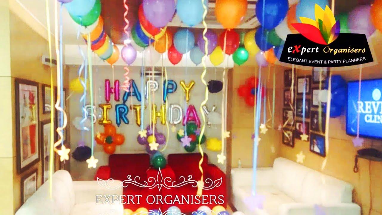 Office Decoration For Boss Birthday Balloon Surprise Youtube