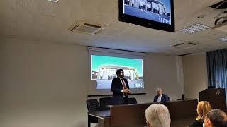 Il viceministro Mise, Stefano Buffagni, in visita alla Itel a Ruvo di Puglia