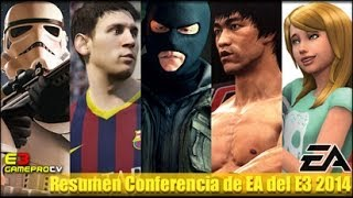 Conferencia Electronic Arts E3 2014 | español GameProTV