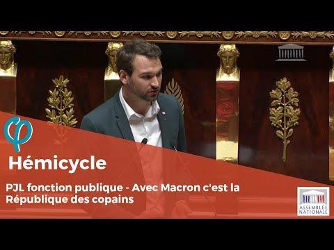 Avec Macron c'est la République des copains