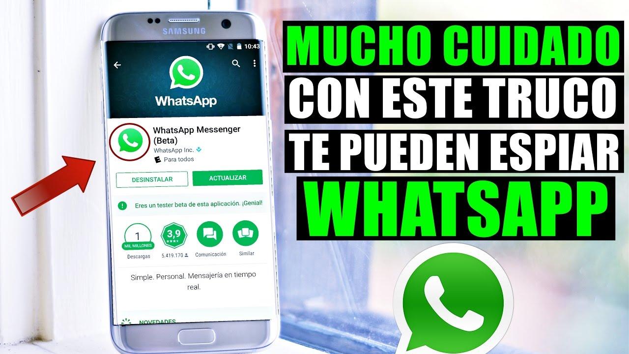 Cuidado Con Este Truco te Pueden Ver WhatsApp Fácilmente ...