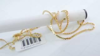 Dây chuyền vàng nữ mảnh đẹp-Vang tây 10k- giá 1.382.000 vnđ