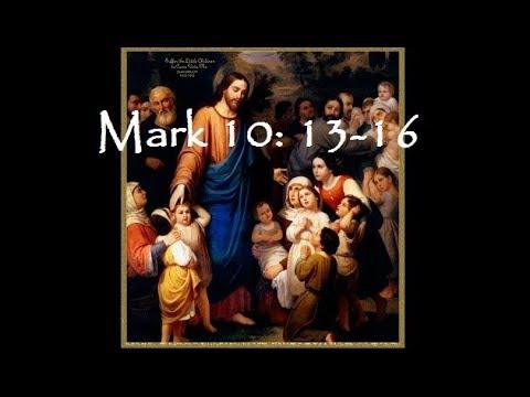 Mk 10:13-16 -- The Little Children and Jesus - Ġesù jbierek it-tfal iż-żgħar