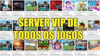 💰 FREE VIP SERVERS FOR ALL ROBLOX GAMES 💰