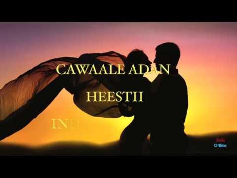TIJAABI CODKAAGA CAWAALE ADAN & HEESTII  INDHO CAASHAQ instrument beats STUDIO OFFLINE
