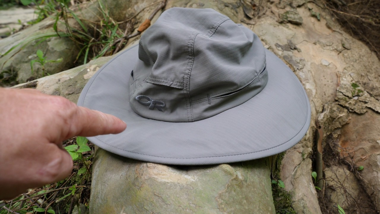 ee24d0f4211d27 Great Sun Hat - Outdoor Research Sombriolet - YouTube