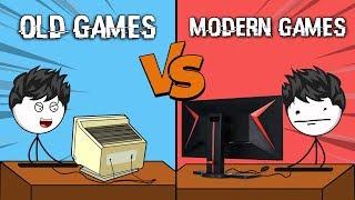 Old Games VS Modern Games || Version 2.0