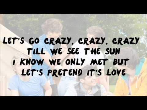 One Direction - Live While We're Young - Lyrics On Screen :) !
