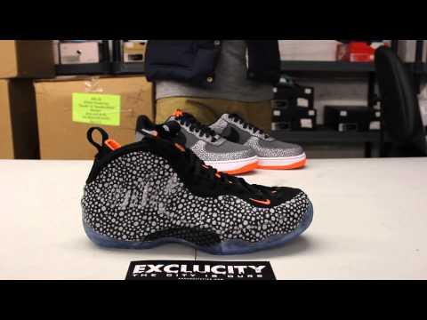 aea955076f Nike Air Foamposite One Premium  Safari  Premium Video at Exclucity