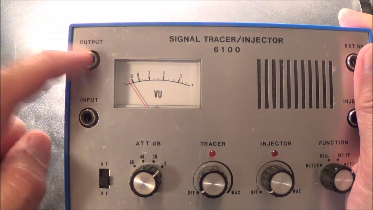 sansei 6100 signal tracer and injector youtubesansei 6100 signal tracer and injector