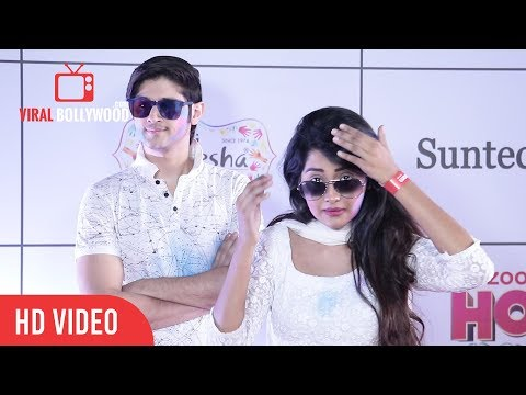 ROHAN MEHRA and KANCHI SINGH HOLI 2018 | Zoom Holi Party 2018