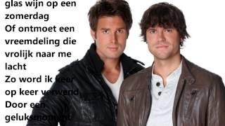 Nick & Simon - Geluksmoment (Songtekst)