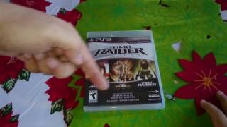 Tomb Raider Trilogy HD Unboxing