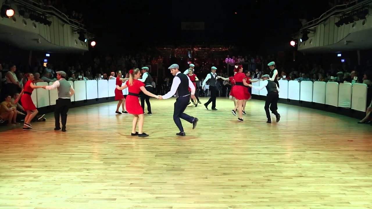 RTSF 2014 - Vintage Club Showgroup - Lindy Hop Routine