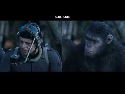 Dawn Of The Planet Of The Apes  behind the scenes CGI motion capture footage