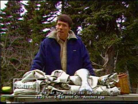 Pat Rodey for Alaska State Senate (1986)