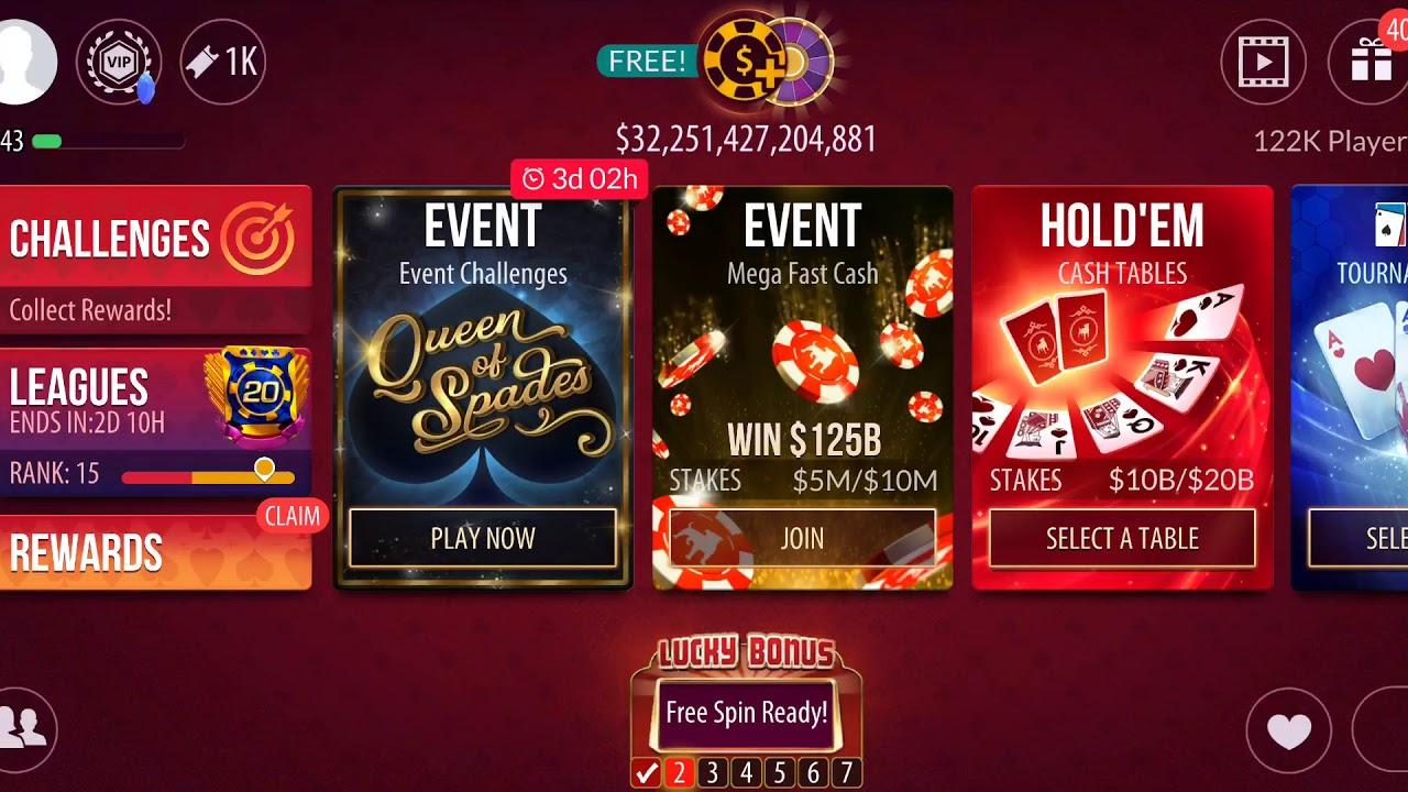 Zynga Poker Account Sign Up