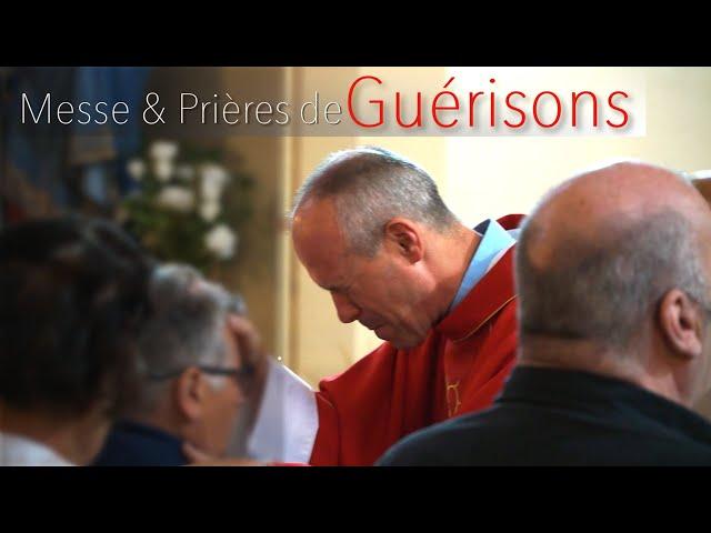 Messe & Prières de Guérisons - Père Olivier Bagnoud / Koïnonia Jean Baptiste - Suisse