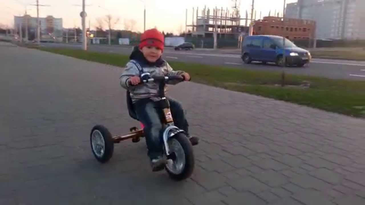 Детский трехколесный велосипед lexus navigator trike обзор - YouTube