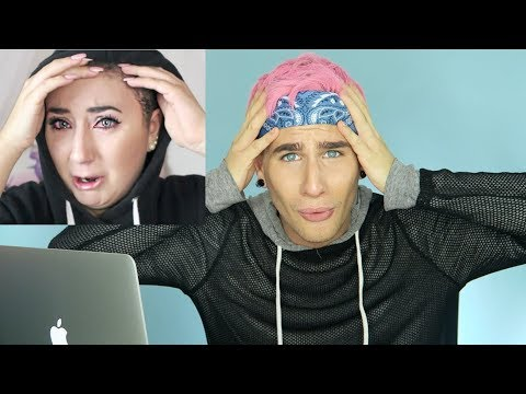 HAIRDRESSER REACTS TO HANNAH FORCIER BREAKING HER HAIR OFF! | bradmondo
