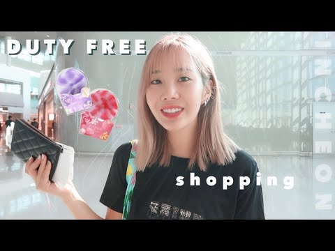 Incheon Duty Free Shopping + cleansing routine in France 🇫🇷