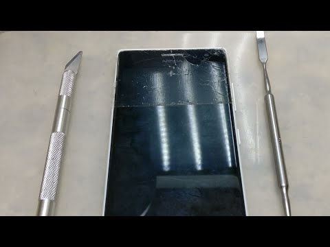 Lumia 735. ЗАМЕНА СТЕКЛА НА OCA/ СЛОМАЕМ ИЛИ НЕТ?