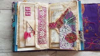 JUNK JOURNAL WITH ME | JOURNAL LAYOUT