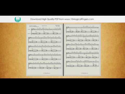 Banjara (Ek Villain) Piano Staff Notation Sheet Music FULL    PDF