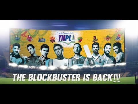 India Cements TNPL 2017 – The blockbuster cricket league is back!