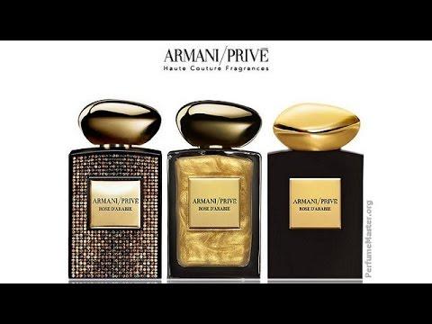 Giorgio Rose Armani Prive Perfume D'arabie 2014 QrCxhdts