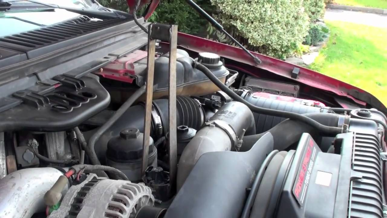 60l Power Stroke Egr Repair Youtube Ford 6 0 Wiring Harness