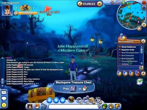 Free Realms: Location Of Blackspore Treasure Chest