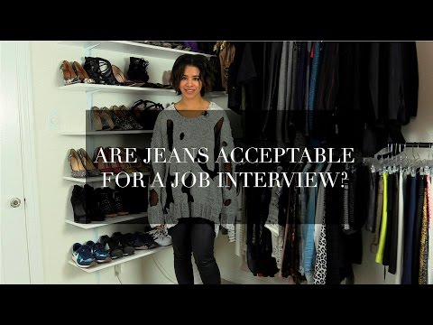 Are Jeans Acceptable for a Job Interview?