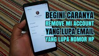 Cara Terbaru Hapus Mi Account Xiaomi Lupa Password Tanpa Pc Tanpa Flash tested 💯% done