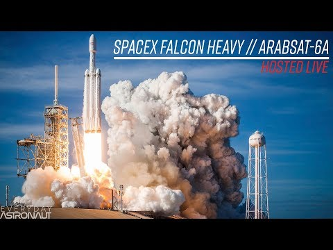 Watch SpaceX's Second Falcon Heavy Launch LIVE From 5 Miles Away!