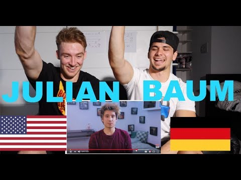 """AMERICANS REACT to JULIEN BAM! """"Do you want to date me?"""""""