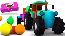 piirretty traktori   Unboxing videot   leluja Unboxing lapsille   Tractor Unboxing   Kids Toys