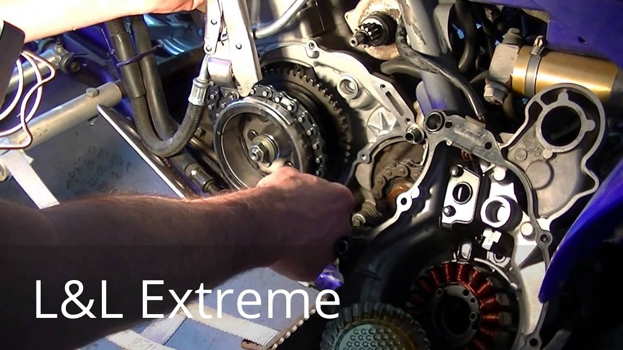 Yamaha Raptor Starter Clutch Install Youtube 660 Wiring Diagram Consists Of