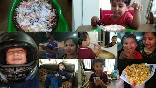 Nursery కే ఇన్ని మాటలా ? Must Watch😆| Our Morning Routine | Cooker Cake | Night Ride with Family