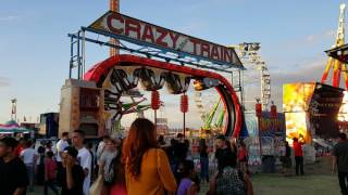 Best Porterville Fair Ever! SCARY RIDES! FUN RIDES! Porterville Fair 2016